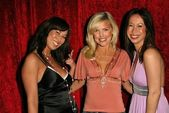Jenna Brook, Kelly Vaughn and Mia Crowe — 图库照片