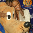 Tyra Banks and Pluto — Stock Photo