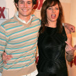 Stock Photo: Adam Brody and MelindClarke at Fox 2004 Fall Lineup, Central, West Hollywood, C10-19-04