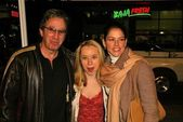 Tim Allen and family — Stock Photo