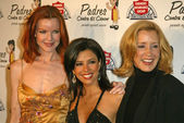 Marcia Cross, Eva Longoria and Felicity Huffman — Stock Photo