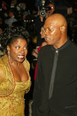 LaTanya Richardson and Samuel L. Jackson — Stock Photo