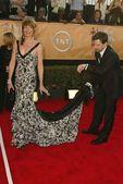 Allison Janney, Sean Hayes — Foto de Stock
