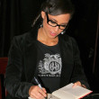 Alicia Keys at the autograph party for Alicia Keys and her first book, Tears For Water at Book Soup, West Hollywood, CA. 11-12-04 — Stock Photo