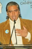 Alejandro Fernandez At the McDonald Kick Off Of World Childrens Day 2004, McDonald's store, Los Angeles, CA 11-09-04 — Stock Photo