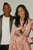 Tricky and Persia White — Stock Photo
