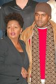 Anita Baker, Kanye West — Stock Photo