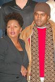Anita Baker, Kanye West — Stock Photo