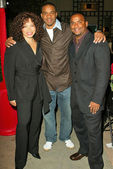 Tisha Campbell-Martin, Duane Martin and Alfonso Ribeiro — Stock Photo