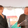 Постер, плакат: Sandra Bullock and William Shatner