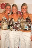 The Dahm Triplets — Stock Photo