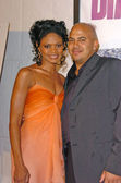 Kimberly Elise and Darren Grant at the Diary of a Mad Black Woman Los Angeles Premiere, Arclight Hollywood, Hollywood, CA 02-21-05 — Stock Photo