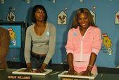 Venus Williams and Serena Williams — Stock Photo