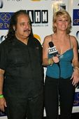 Ron Jeremy and Tamie Sheffield — Stock Photo