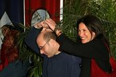 Willie garson e mimi rogers — Foto Stock