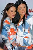Ksenia Linkova and Katia Jones of RU — Stock Photo