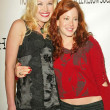 Adrienne Frantz and Amy Davidson at the 2nd Annual Young Hollywood Holiday Party, Bliss, Los Angeles, CA 12-08-04 - Stock Photo