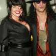 Slash and wife Perla — Stock Photo #17053311
