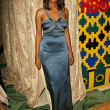 Aisha Tyler at the HBO Party Celebrating The 62nd Annual Golden Globe Awards, Griffs Restaurant, Beverly Hills, CA 01-16--05 - Stock Photo