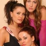 ������, ������: Abi Ferrin and RU at Revolving Door Style Studios Abi Ferrin Ksenia Linkova and Katia Jones