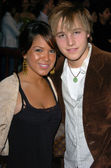 Shawn Pyfrom with girl — Stock Photo