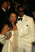 Fran Drescher and Sean Combs — Stock Photo