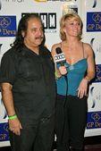 Ron Jeremy and Tamie Sheffield — Stock Photo