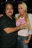 Ron Jeremy and Mary Carey — Stock Photo