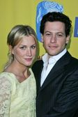 Alice Evans and Ioan Grufford at the 11th Annual BAFTA LA Tea Party, Park Hyatt Hotel, Los Angeles, CA, 01-15-05 — Stock Photo