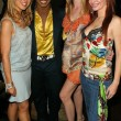 Julia Verdin, Damone Roberts, Meredith Ostrom and Phoebe Price — Stock Photo