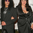Stock Photo: Slash and wife