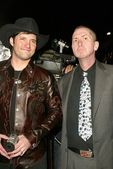 Robert Rodriguez and Frank Miller — Stock Photo