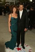 Bridget Moynahan and Tom Brady — Stock Photo