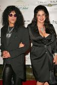 Slash and wife — Stock Photo