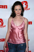 Alexis bledel in het gemiddelde magazine launch party, nacional, hollywood, ca 02-29-05 — Stockfoto