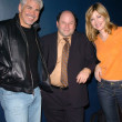 Gary Ross, Jason Alexander and Sharon Lawrence — Stock Photo