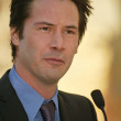 Keanu Reeves at Reeves induction in the Hollywood Walk of Fame, Hollywood, CA, 01-31-05 - Foto de Stock