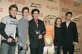 Trevor Morgan, Ryan Kelley, Josh Peck, Carly Schroeder, Rory Culkin and Scott Mechlowicz — Stock Photo