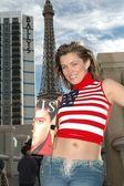 Alicia Arden's Las Vegas New Years — Stock Photo