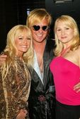 Katie Lohmann, Daniel DiCriscio and Alana Curry — Stock Photo