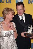 Helen Mirren and Tom Hanks — Stock Photo