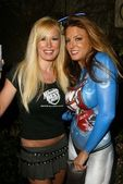 Lana Kinnear and Tracy Dali — Stock Photo