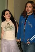 Amy Lee, Shaun Morgan — Stock Photo