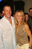 Lance Armstrong and Sheryl Crow — Stock Photo