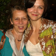 Постер, плакат: Maggie Gyllenhaal and mom Naomi