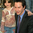 Keanu Reeves and Patric Taylor at Reeves induction in the Hollywood Walk of Fame, Hollywood, CA, 01-31-05 - ストック写真