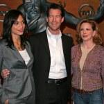 Rosario Dawson, James Denton and Melissa Gilbert — Stock Photo #17094015