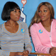 Serena Williams and Venus Williams — Stok fotoğraf