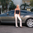 Katie Lohmann Bentley Shoot — Stockfoto
