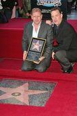Robert Zemeckis and Tom Hanks — Stock Photo
